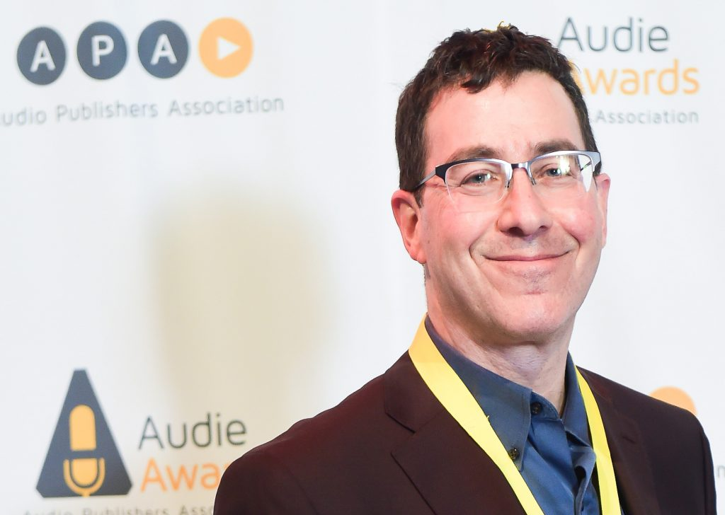 Mark Binder at the Audie Audio Book Awards