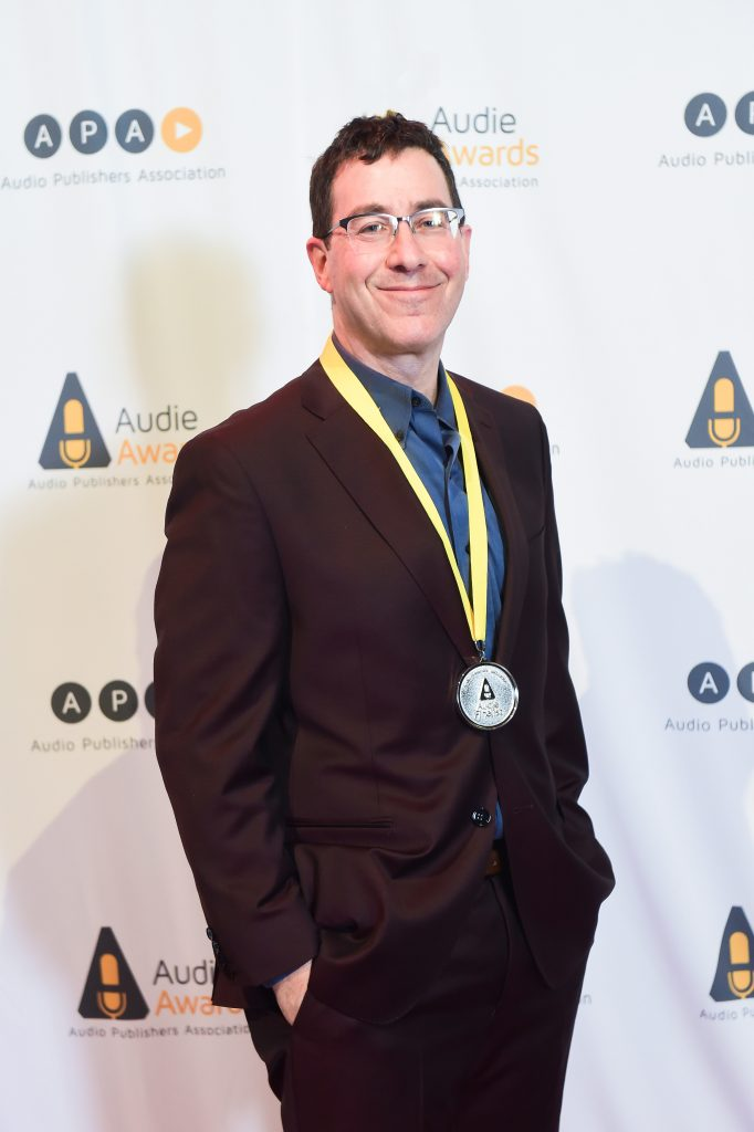 Mark Binder at the Audie Audio Book Awards Tall